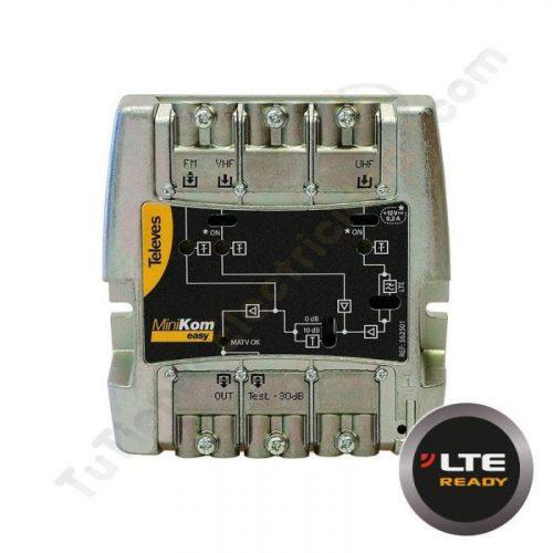 Amplificador minikom matv 3e-1s easyf Televés