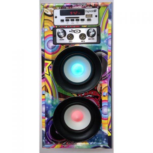 altavoz portatil karaoke digivolt