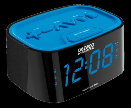 radio despertador daewoo DCR-45